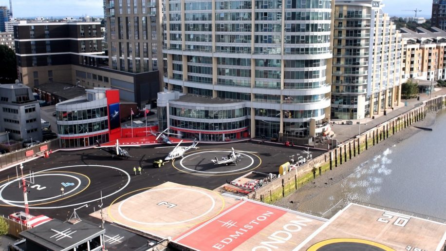 London Heliport closed as a precaution
