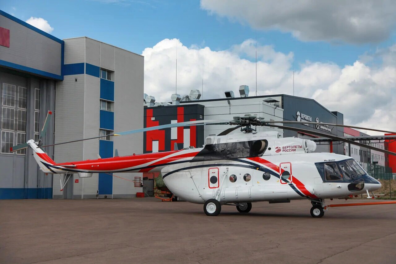 Rostec completes first Mi-8AMT Arctic helicopter model