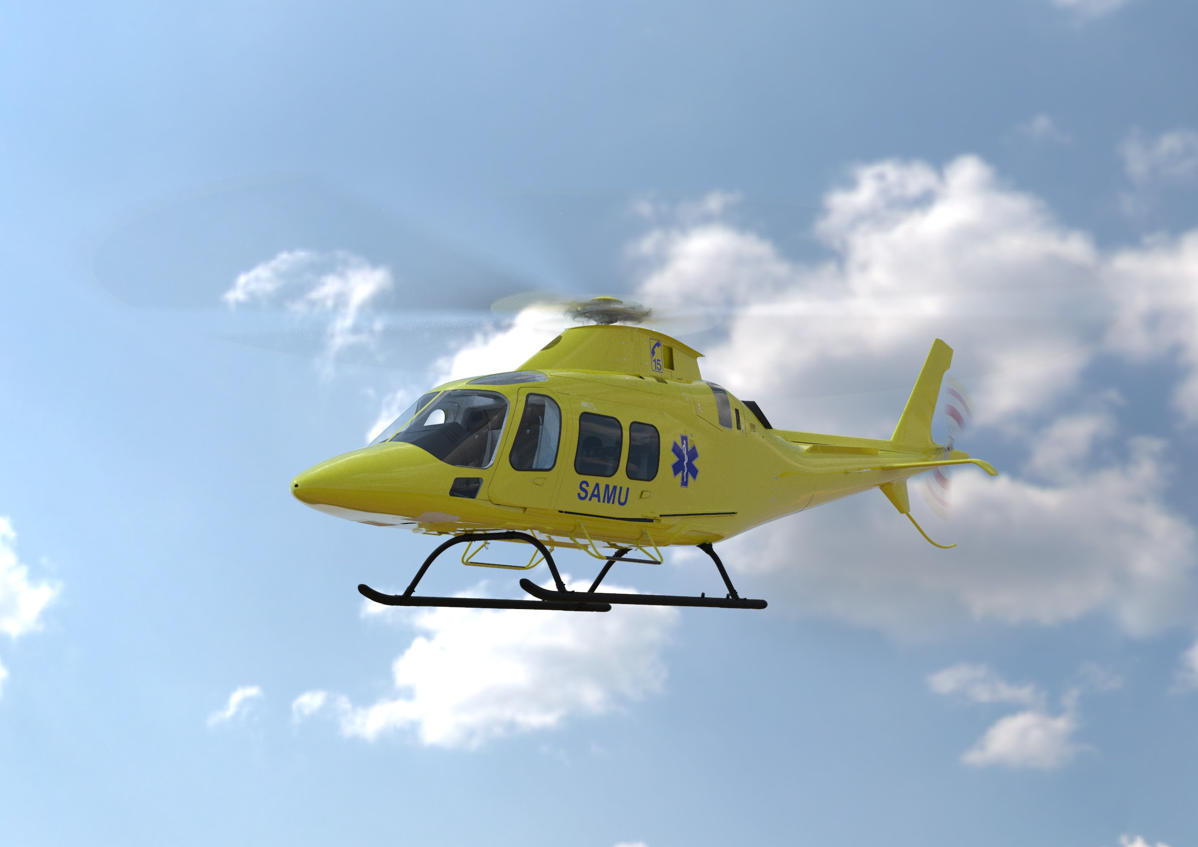 AW109 Trekker selected for French EMS operations