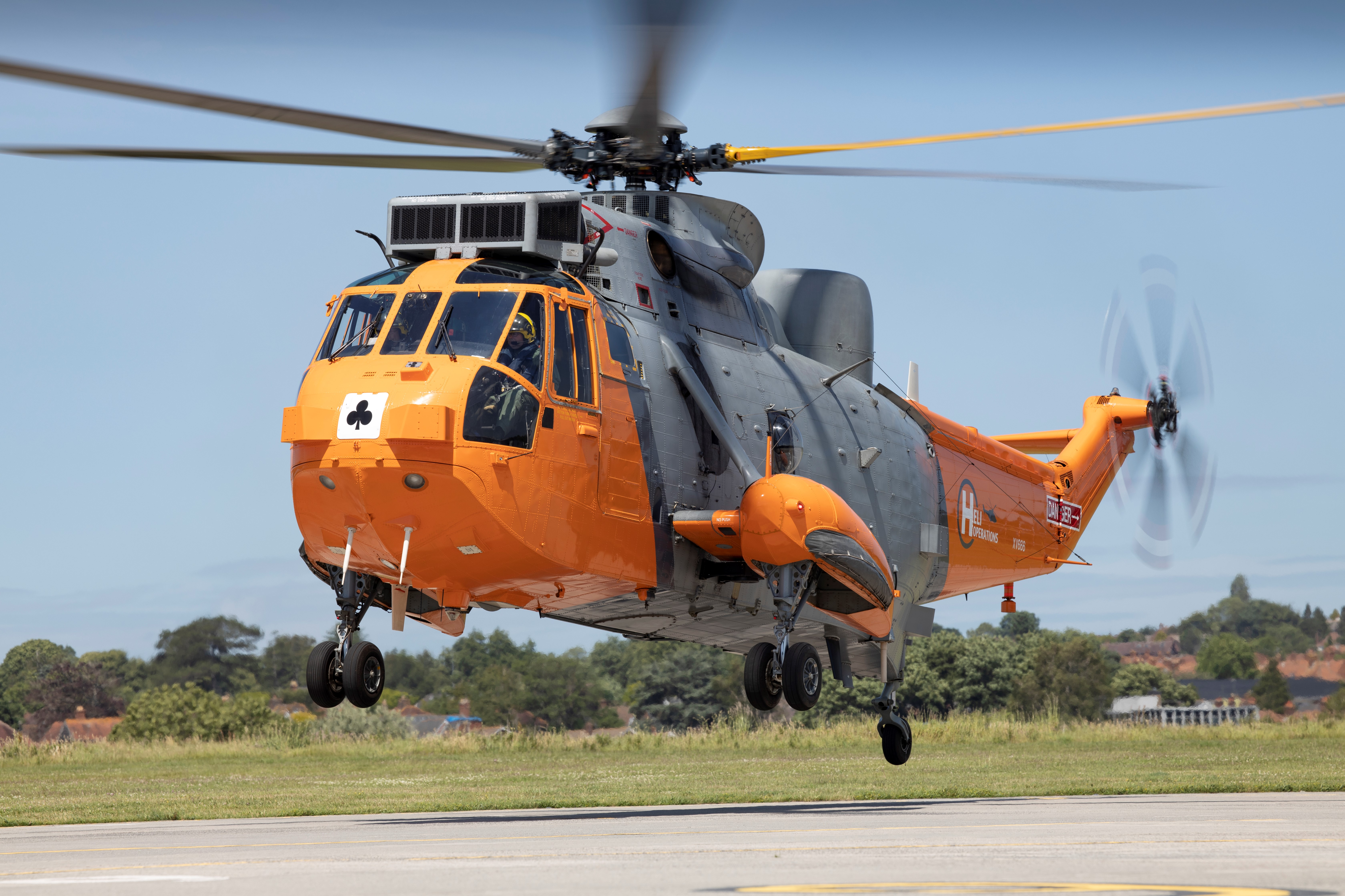 Sea King visits Yeovil – 50th anniversary since first flight