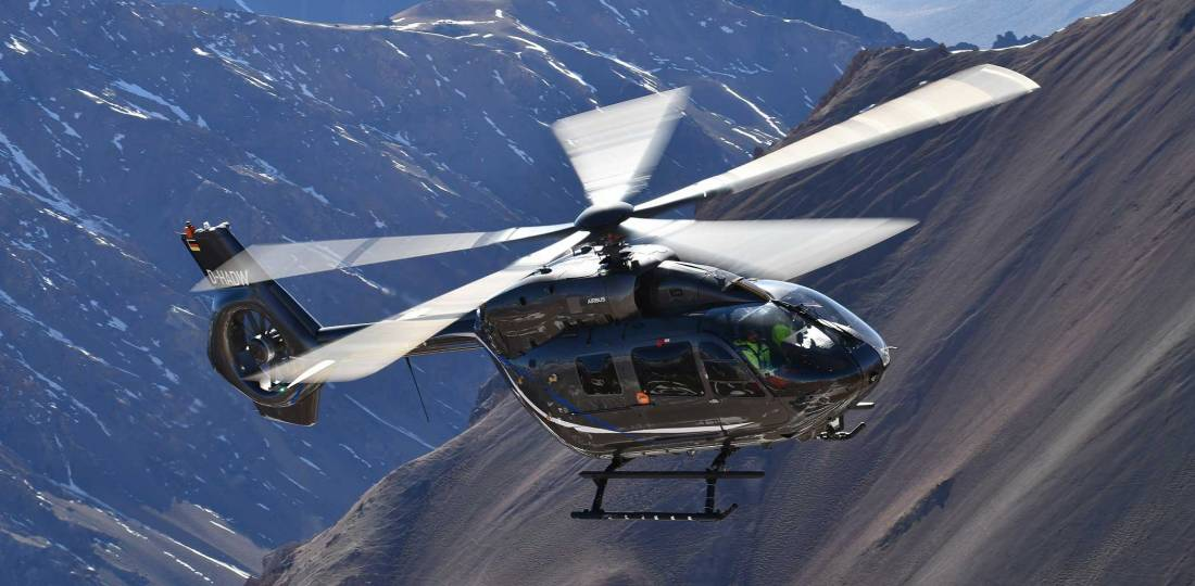 Five-bladed Airbus H145 achieves EASA approval