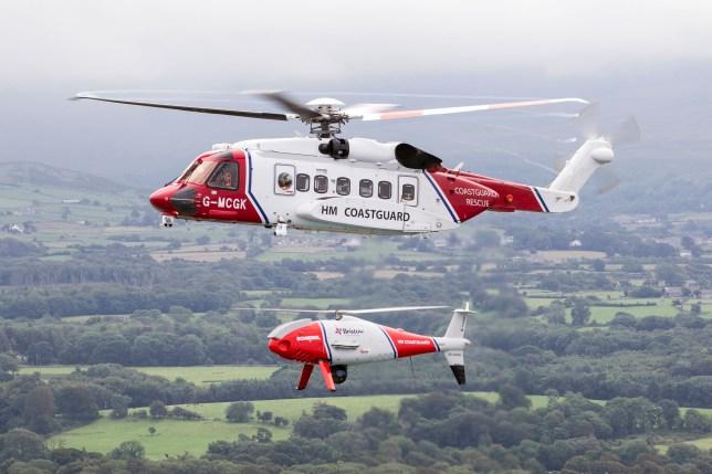 HM Coastguard conducts unmanned SAR sorties