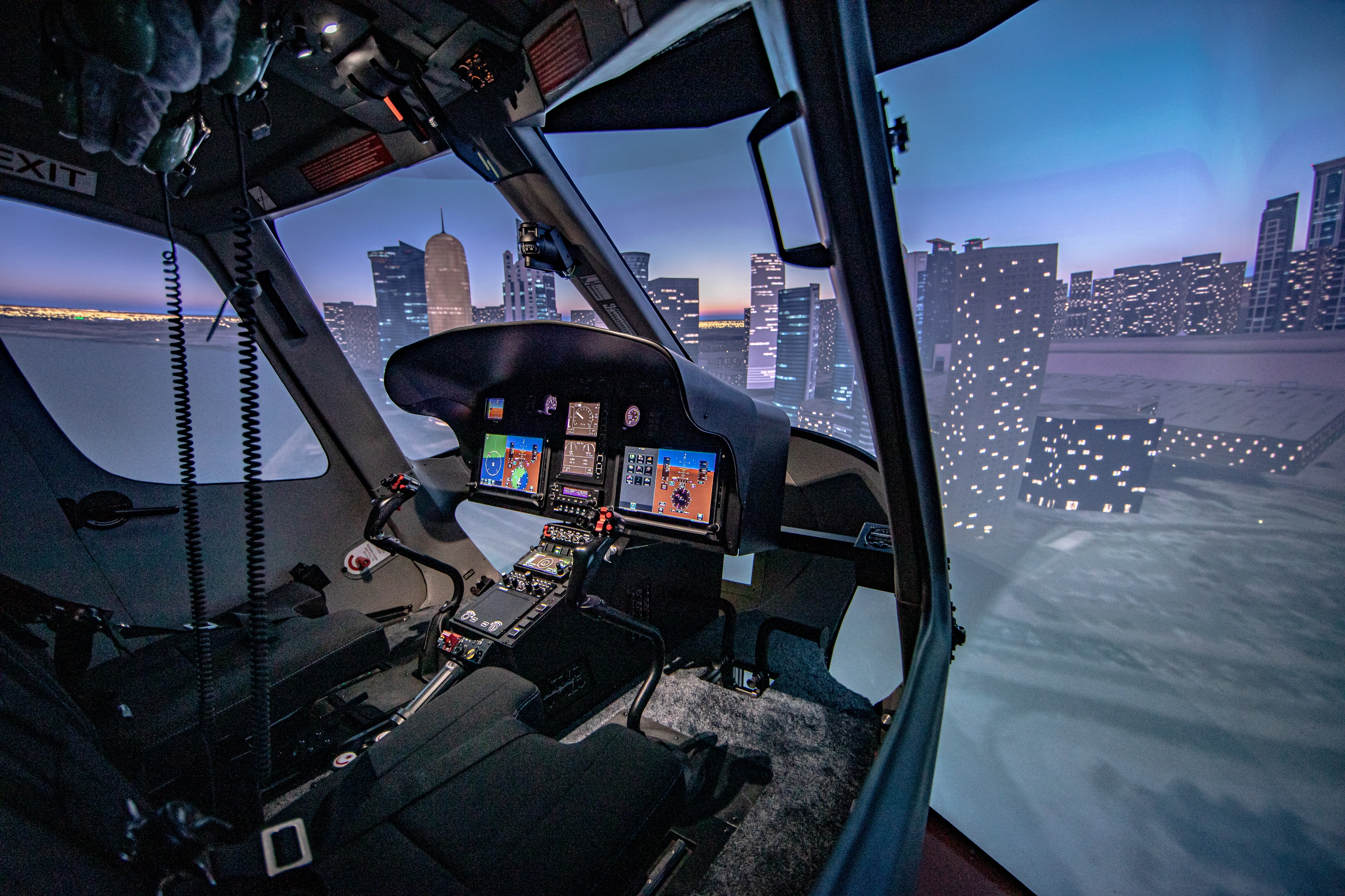 Entrol launches the H05 FNPT II simulator based on H125/AS350