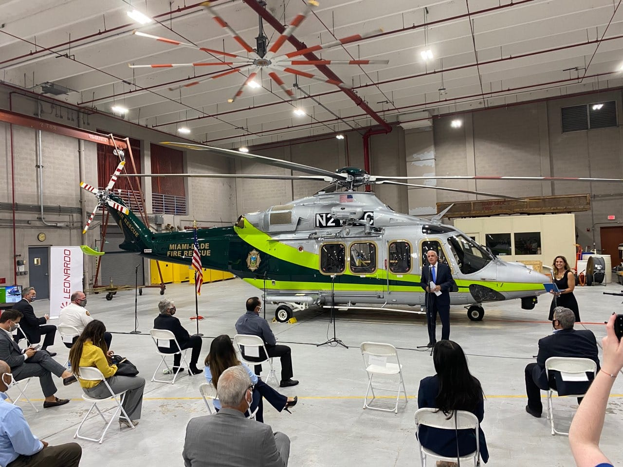 Miami-Dade Fire Rescue (MDFR) upgrades helicopter fleet with delivery of first AW139 helicopter