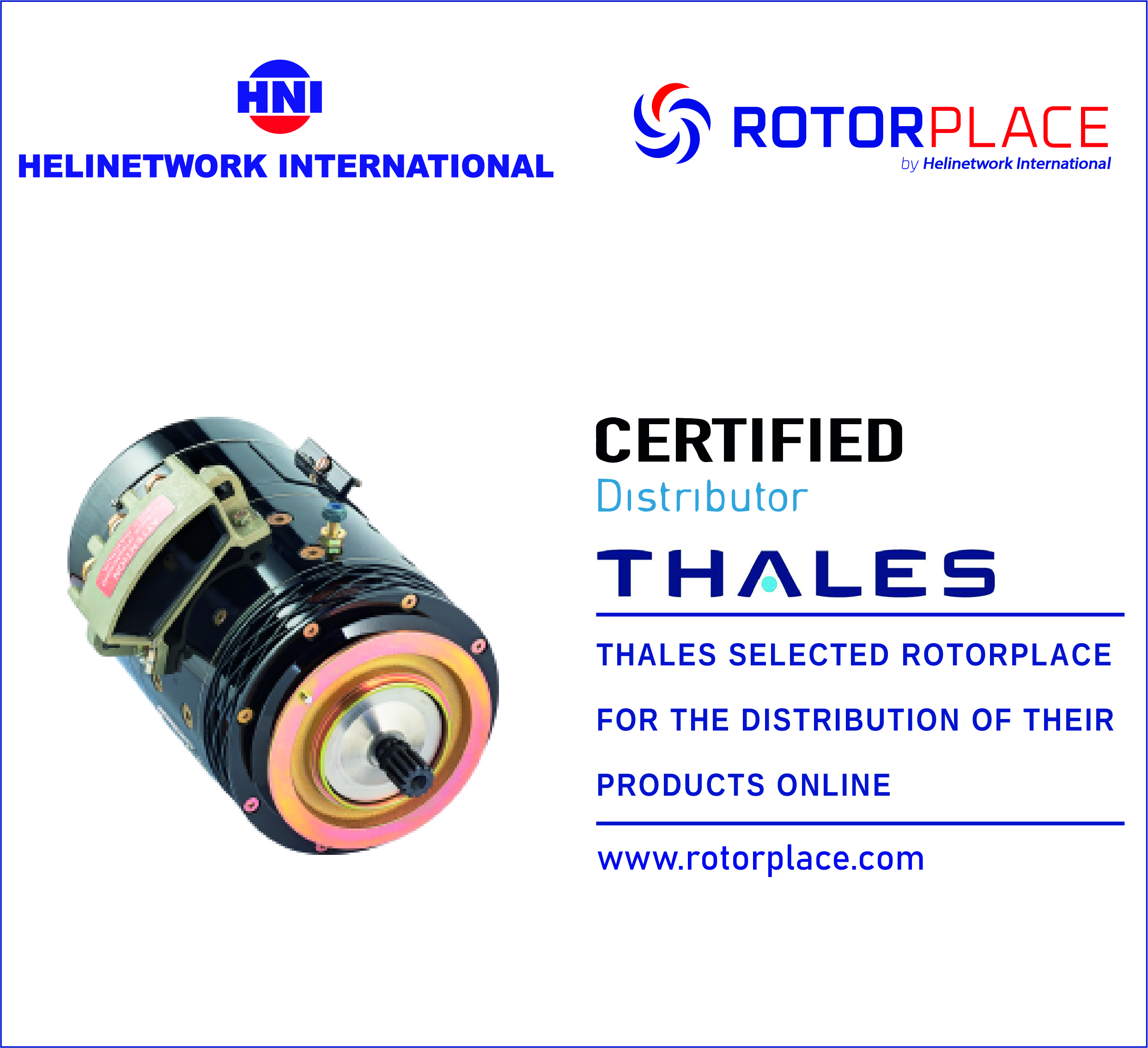 Helinetwork International signs an agreement with Thales Avionics Electrical Systems
