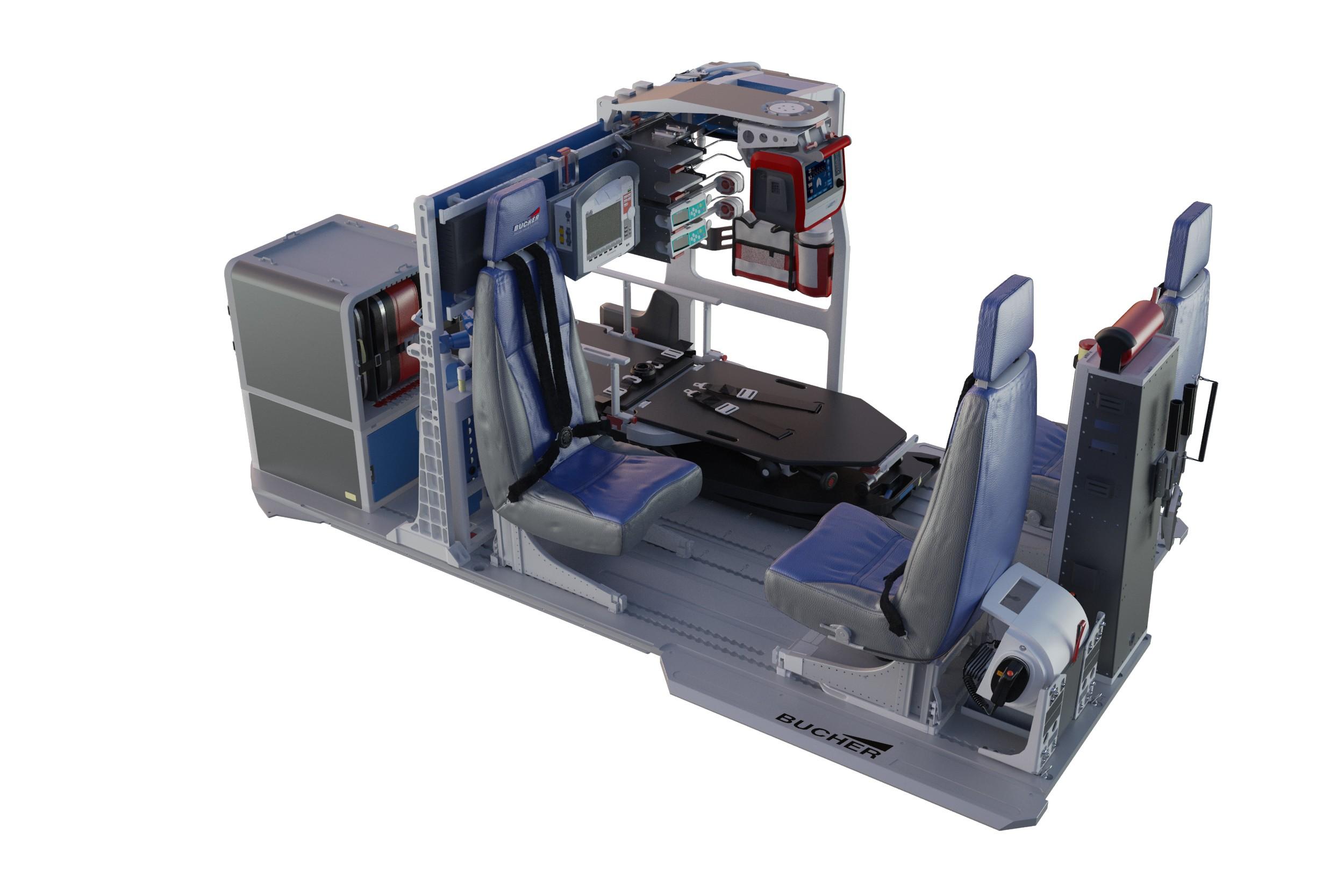 Bucher's brand new H135 HEMS AC67 flex-equipment – receives EASA approval