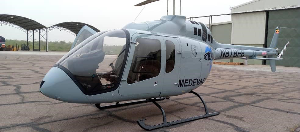 Bell delivers first 505 to Ugandan operator
