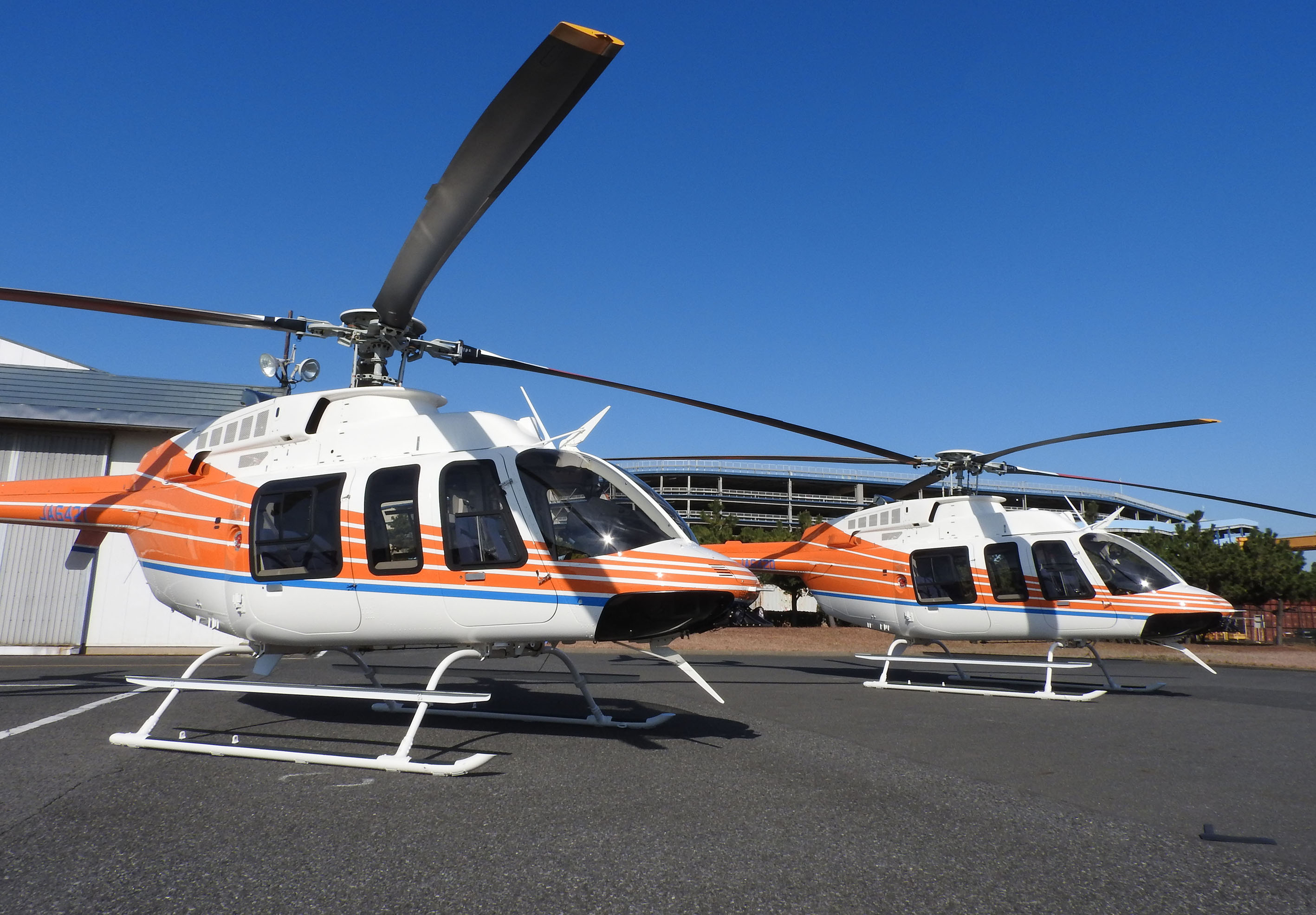 Bell delivers first 407GXi helicopters to Japan