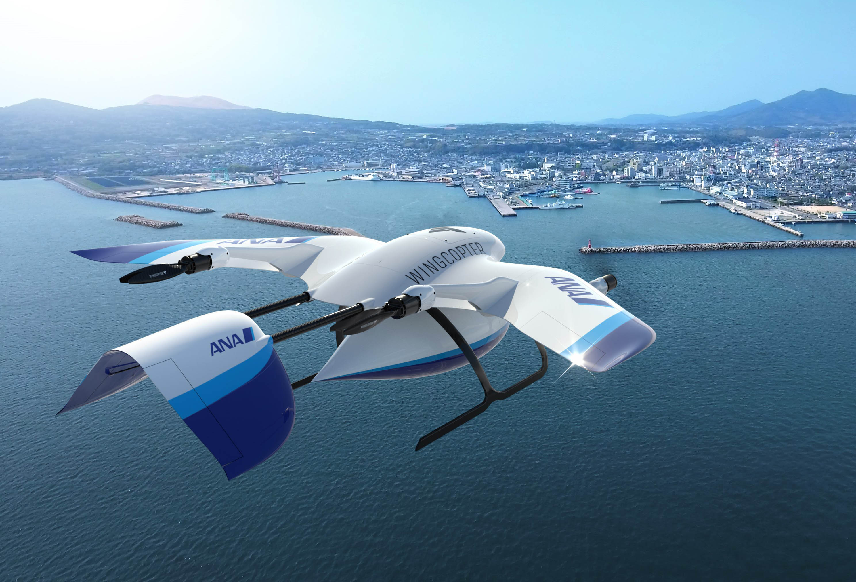 ANA and Wingcopter collaborate on drone delivery
