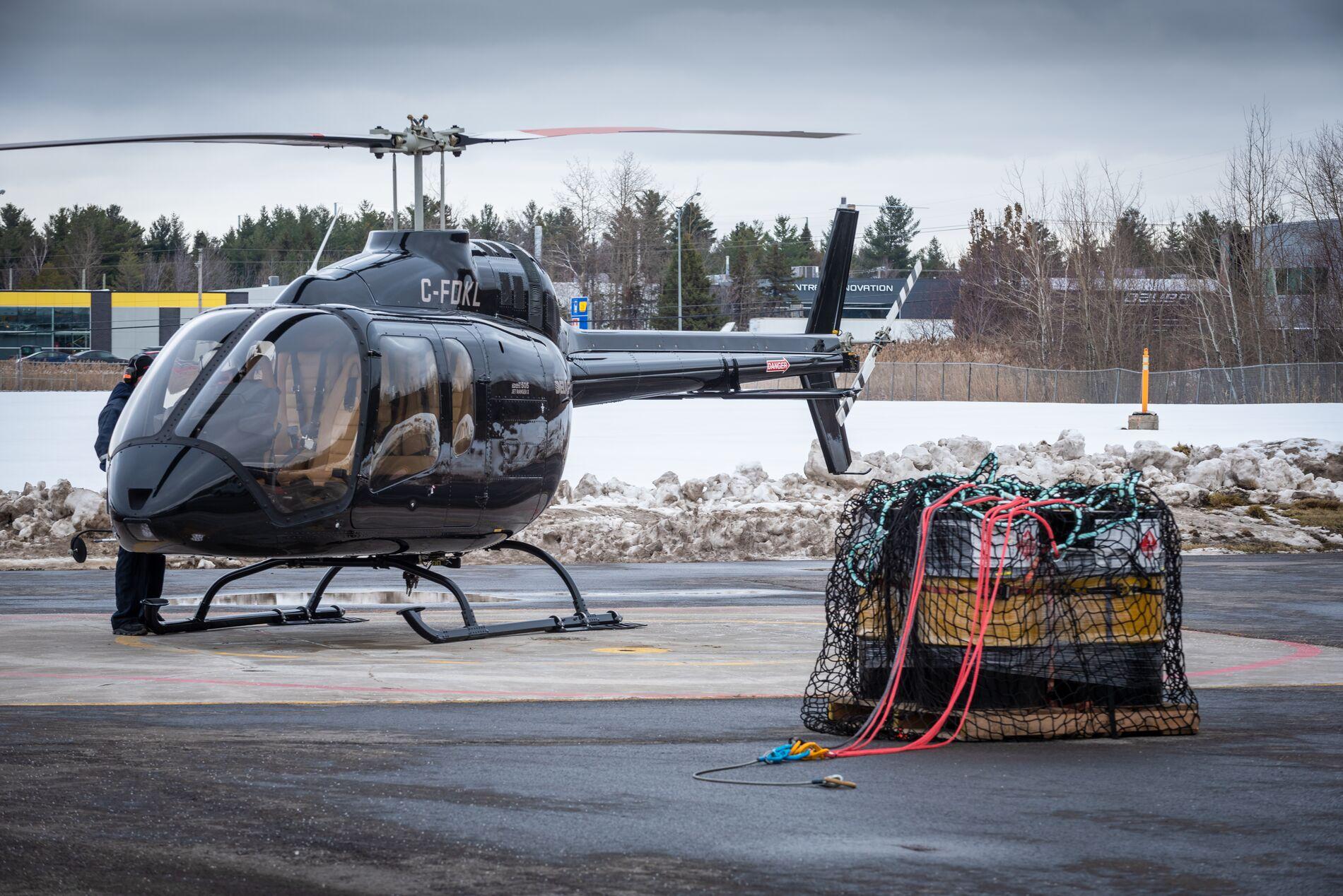 EASA certifies Bell 505 cargo hook