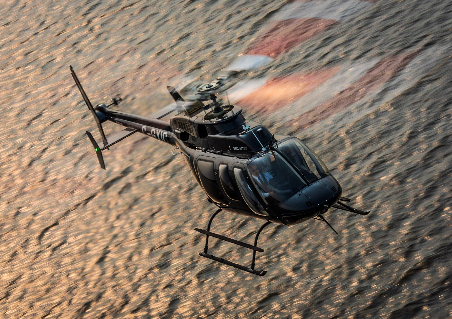 Bell 407 granted type acceptance in Guernsey