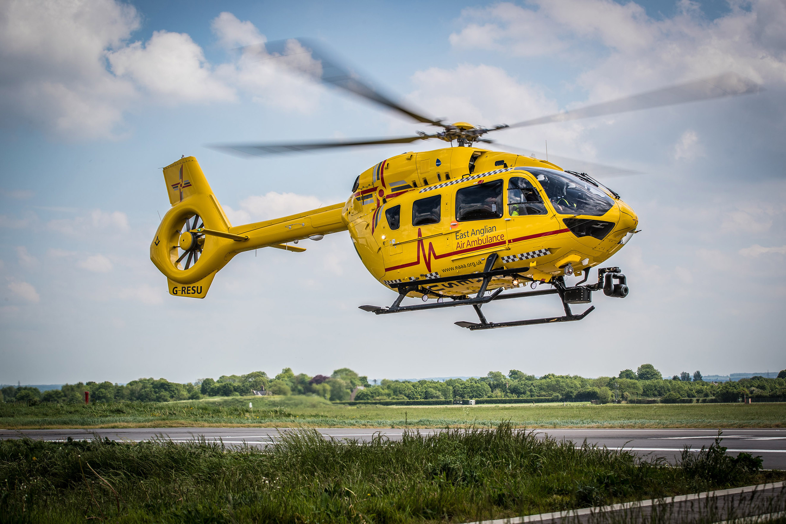 Babcock agrees new deal with East Anglian Air Ambulance