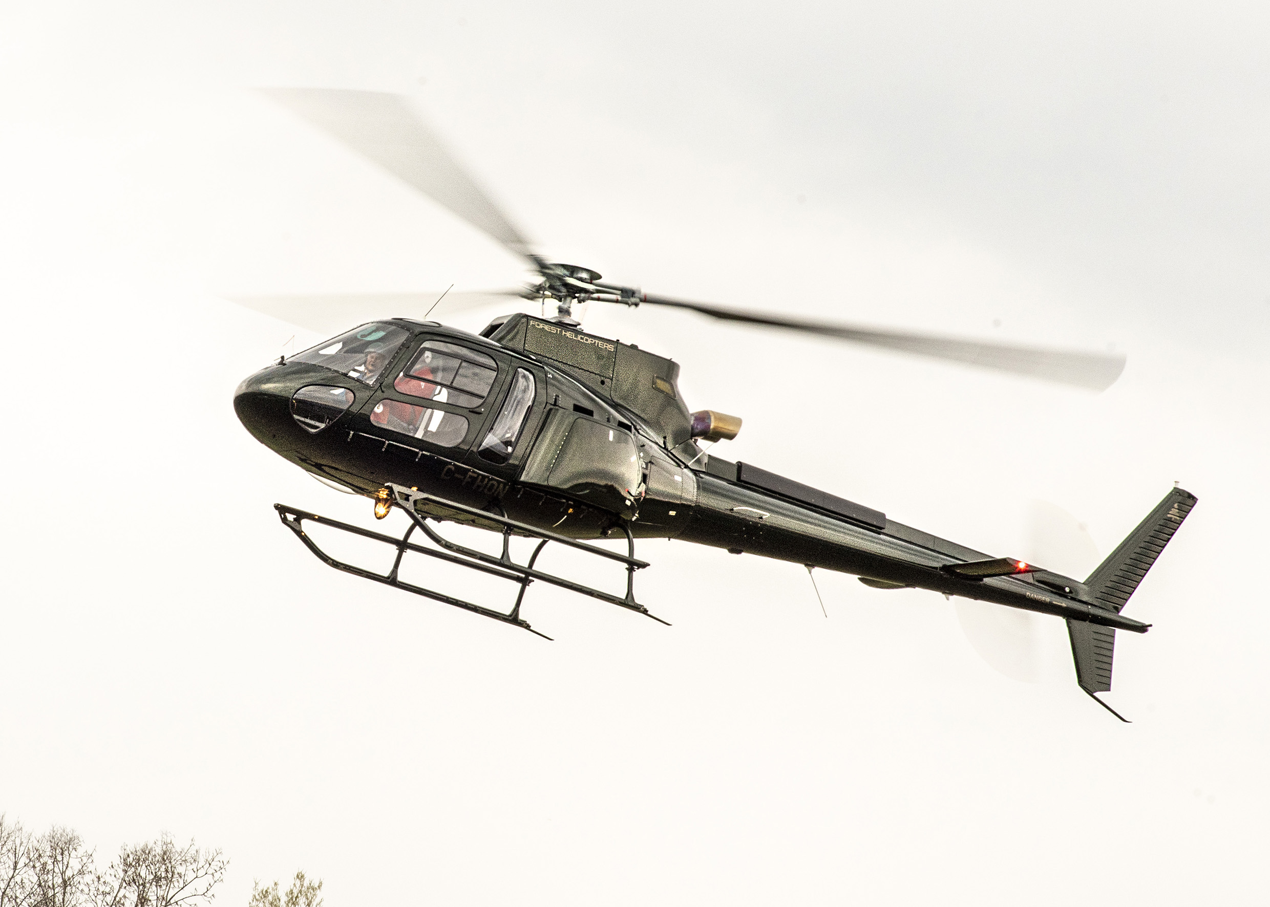 Forest Helicopters receives new H125