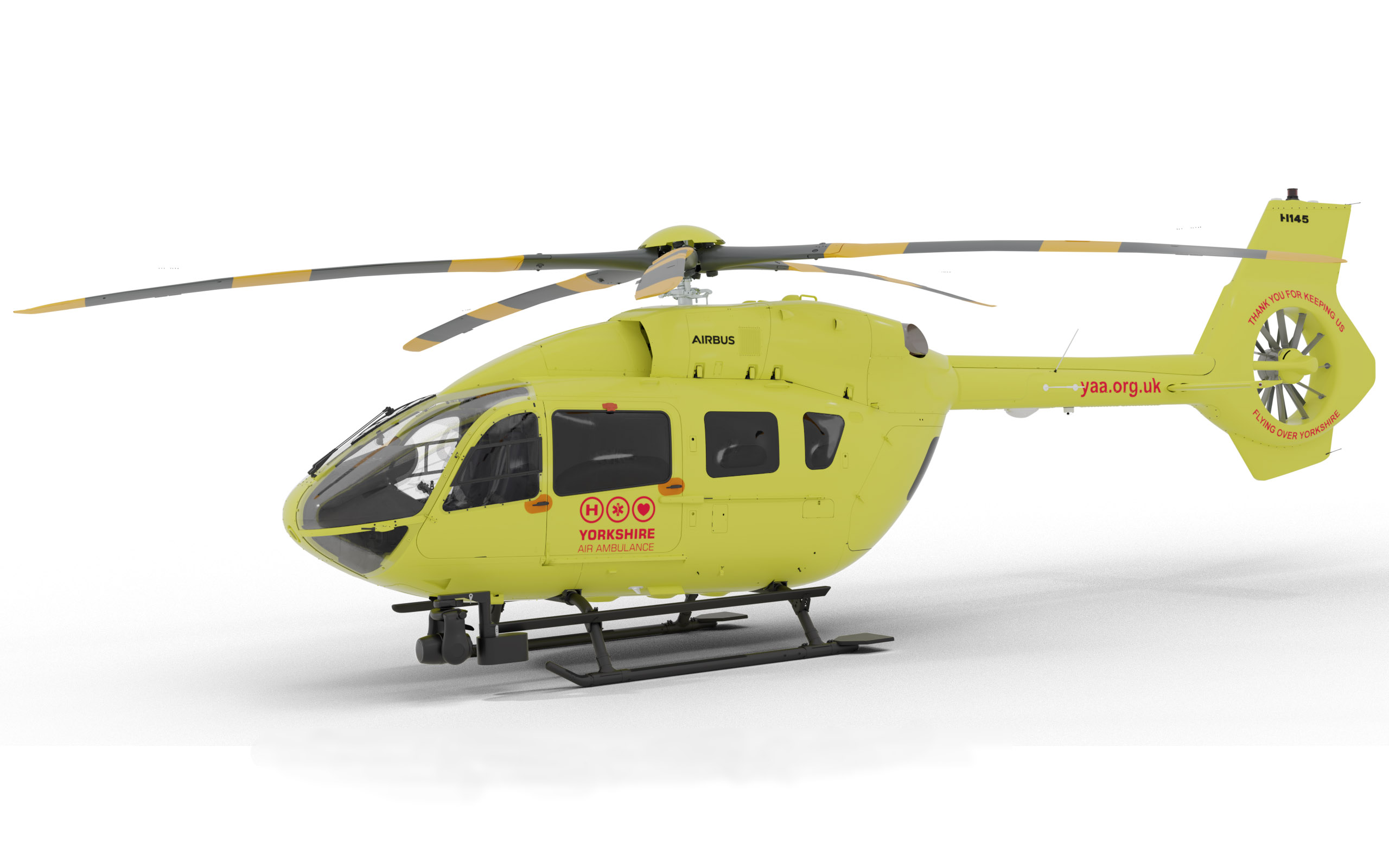 Yorkshire Air Ambulance signs up for two H145s