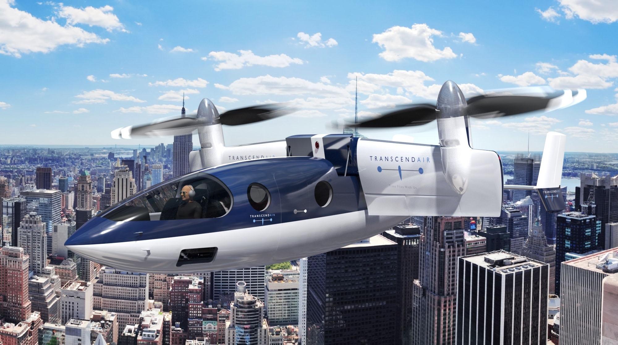 GE Aviation to supply engine for Transcend's Vy 400 HSVTOL