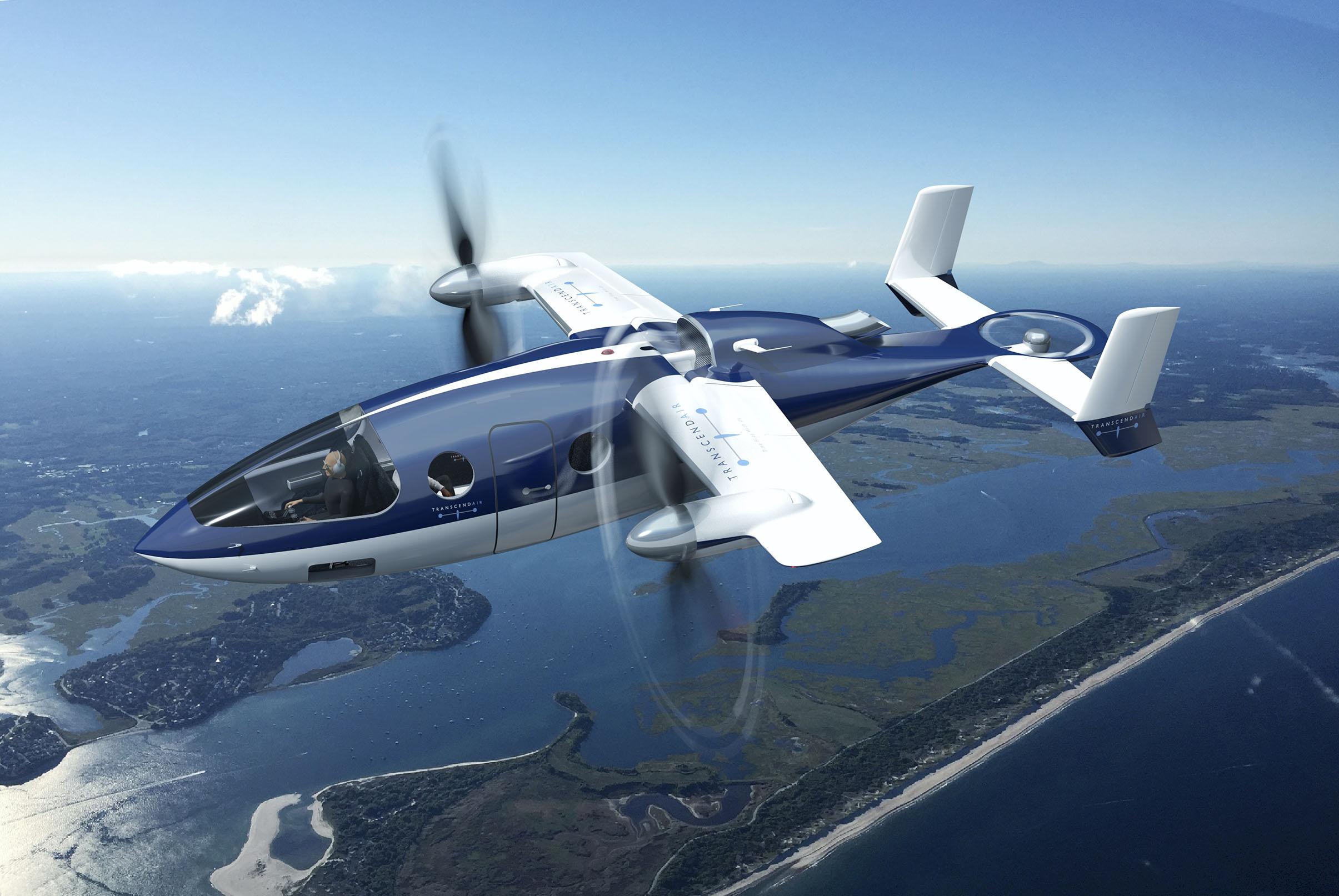 Transcend chooses Kaman to build Vy 400 VTOL
