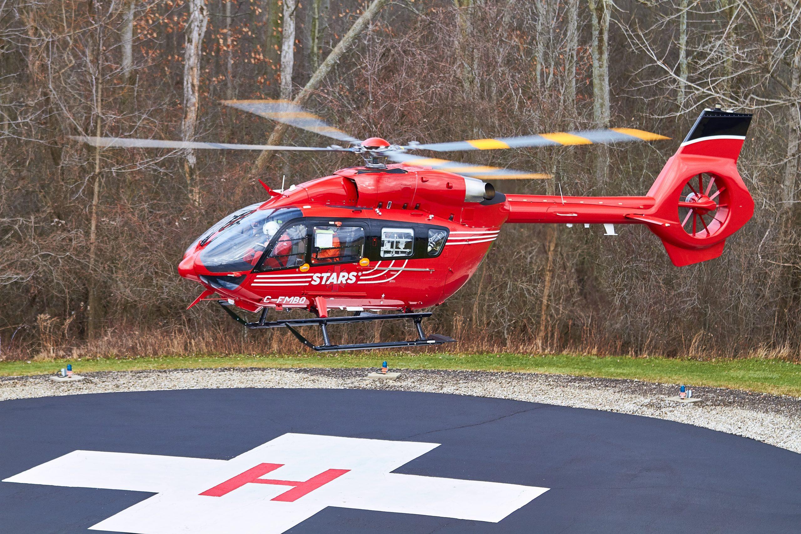 STARS welcomes H145 to Winnipeg base