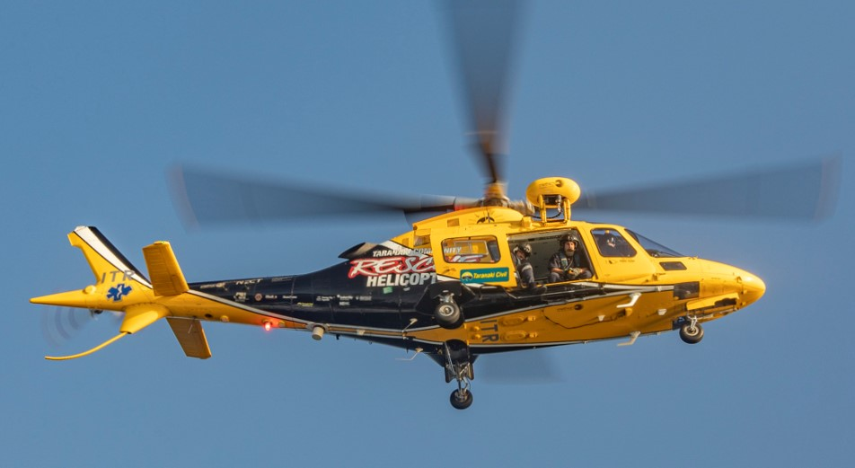 Taranaki Rescue Helicopter Trust to replace long-serving A109